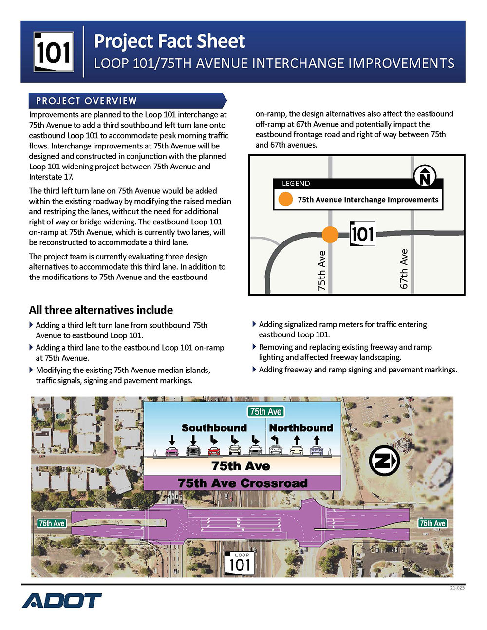 75th Ave Project Fact Sheet