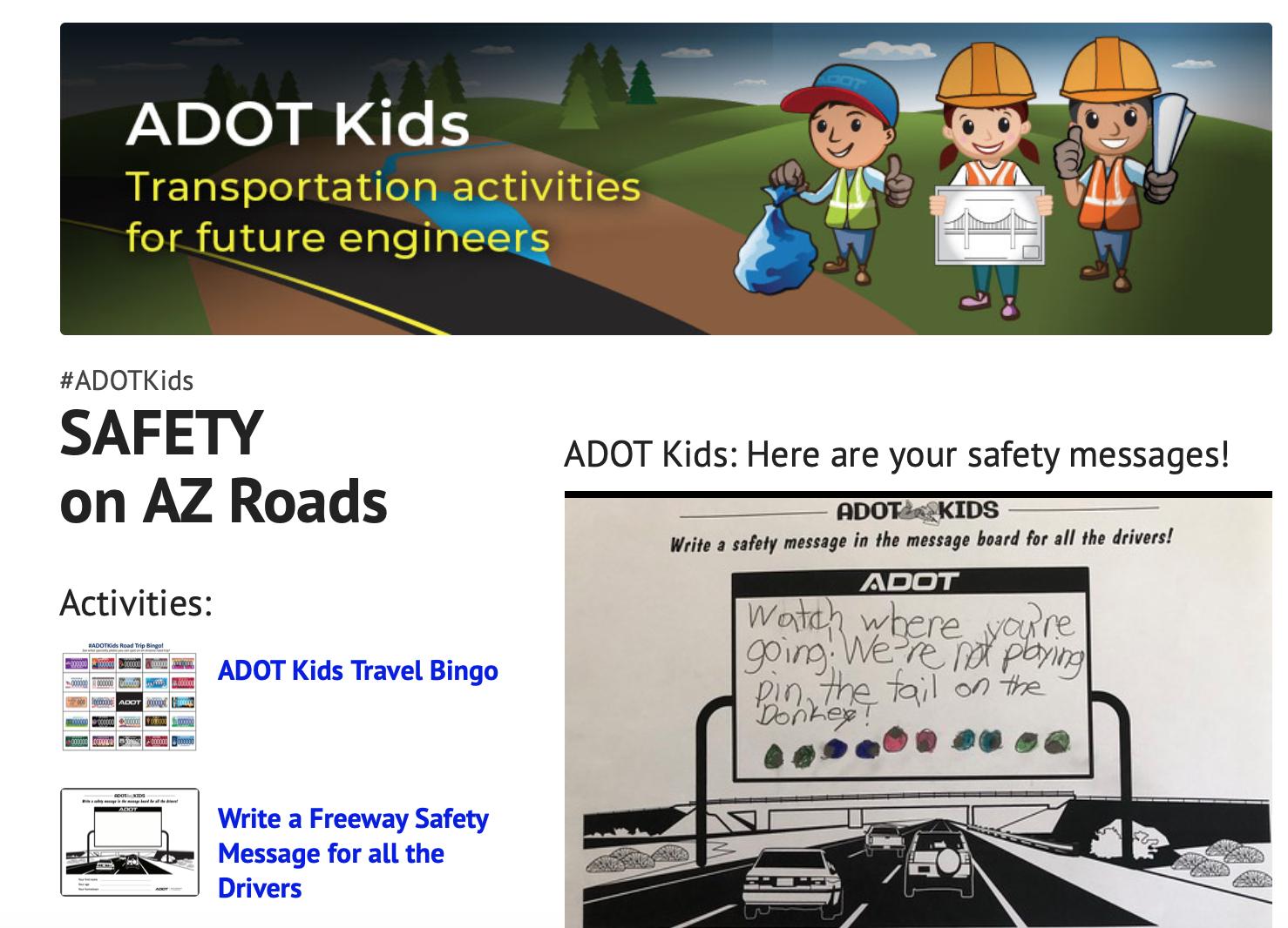 ADOT Kids Award