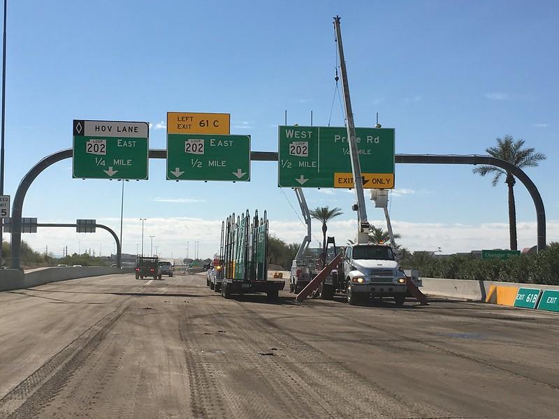 ADOT construction signs