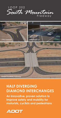 South Mountain Freeway DDI Flyer cover