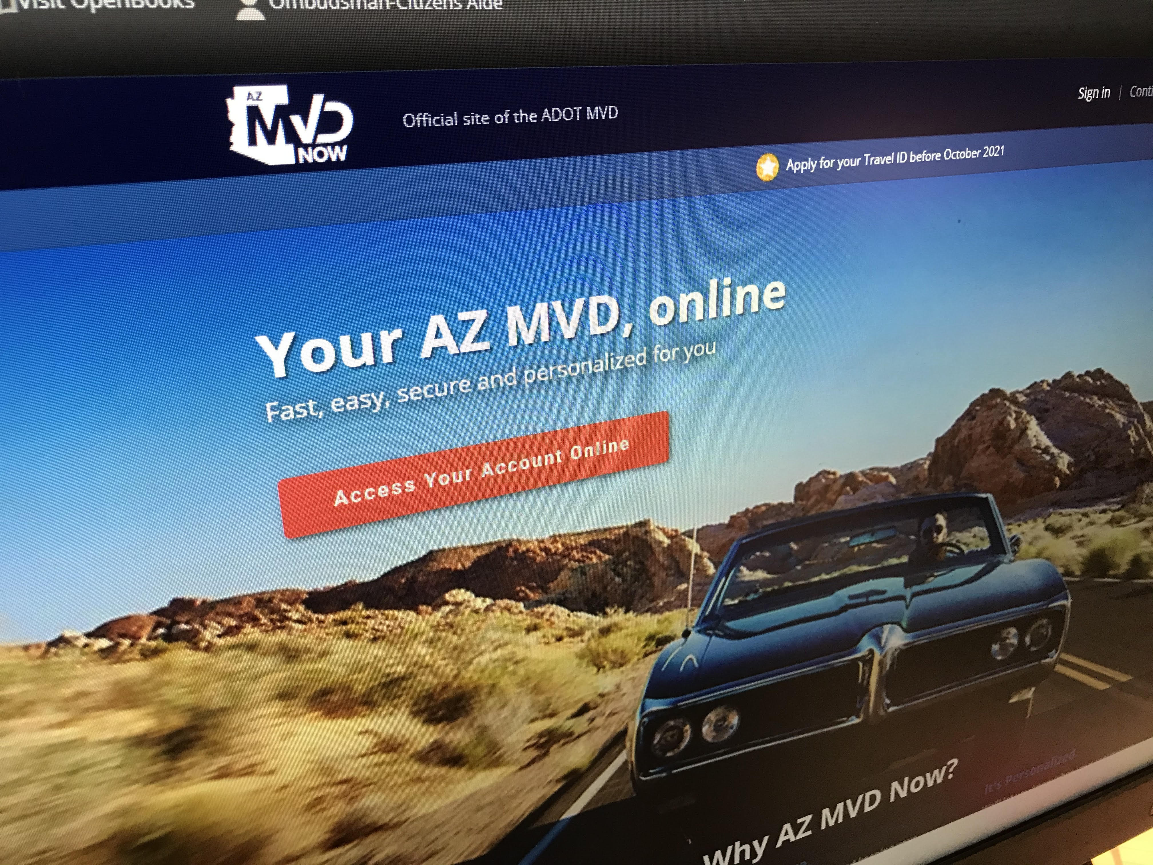 Image result for How To Signup For AZ MVD
