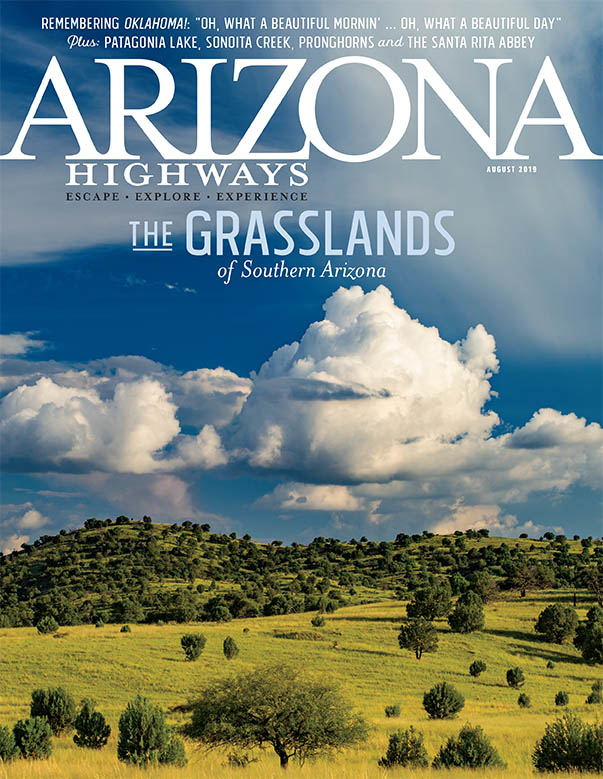 Arizona Highways cover August 2019