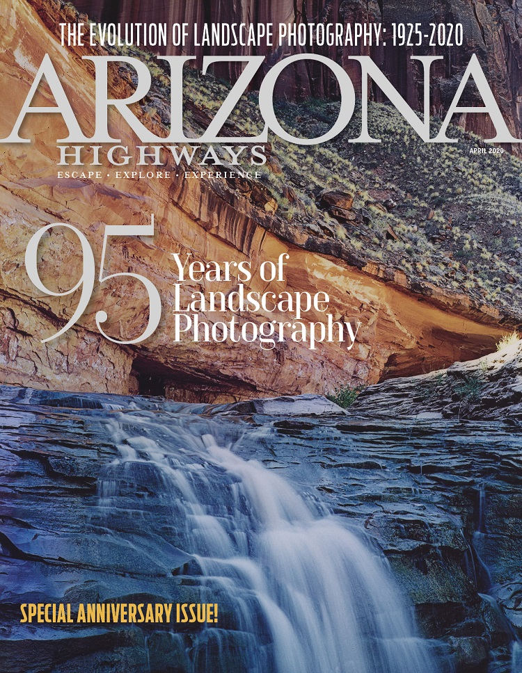 Arizona Highways Magazine April 2020 cover