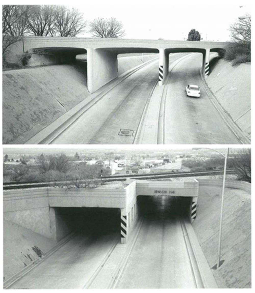 Benson underpasses
