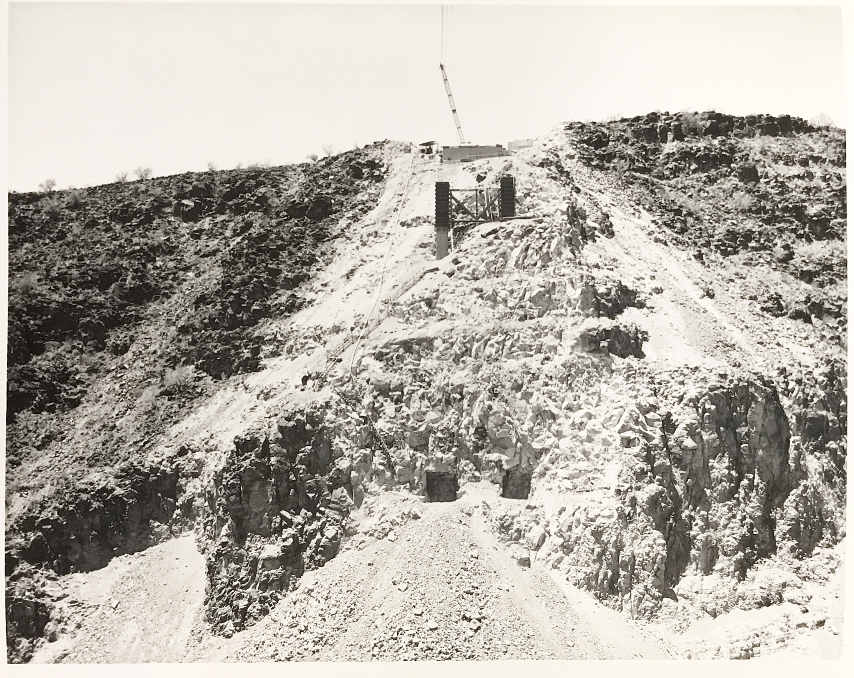 Burro Creek construction