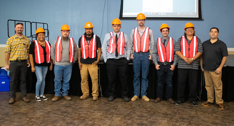 Participants in first two-week ADOT Construction Academy gradudate