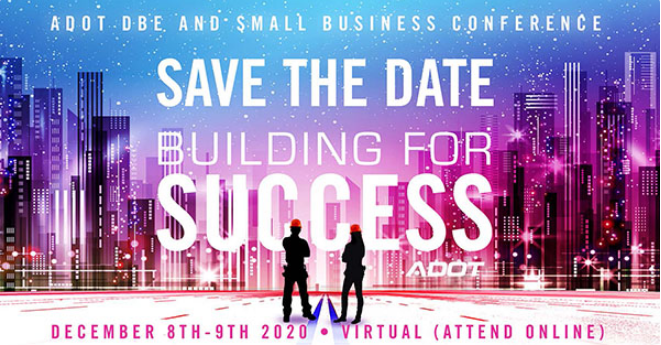 Graphic for small and disadvantaged business enterprise virtual conference