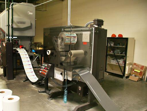 Digital License Plate Machine