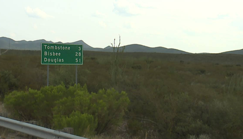 Arizona state highway distance sign technology accuracy DMI