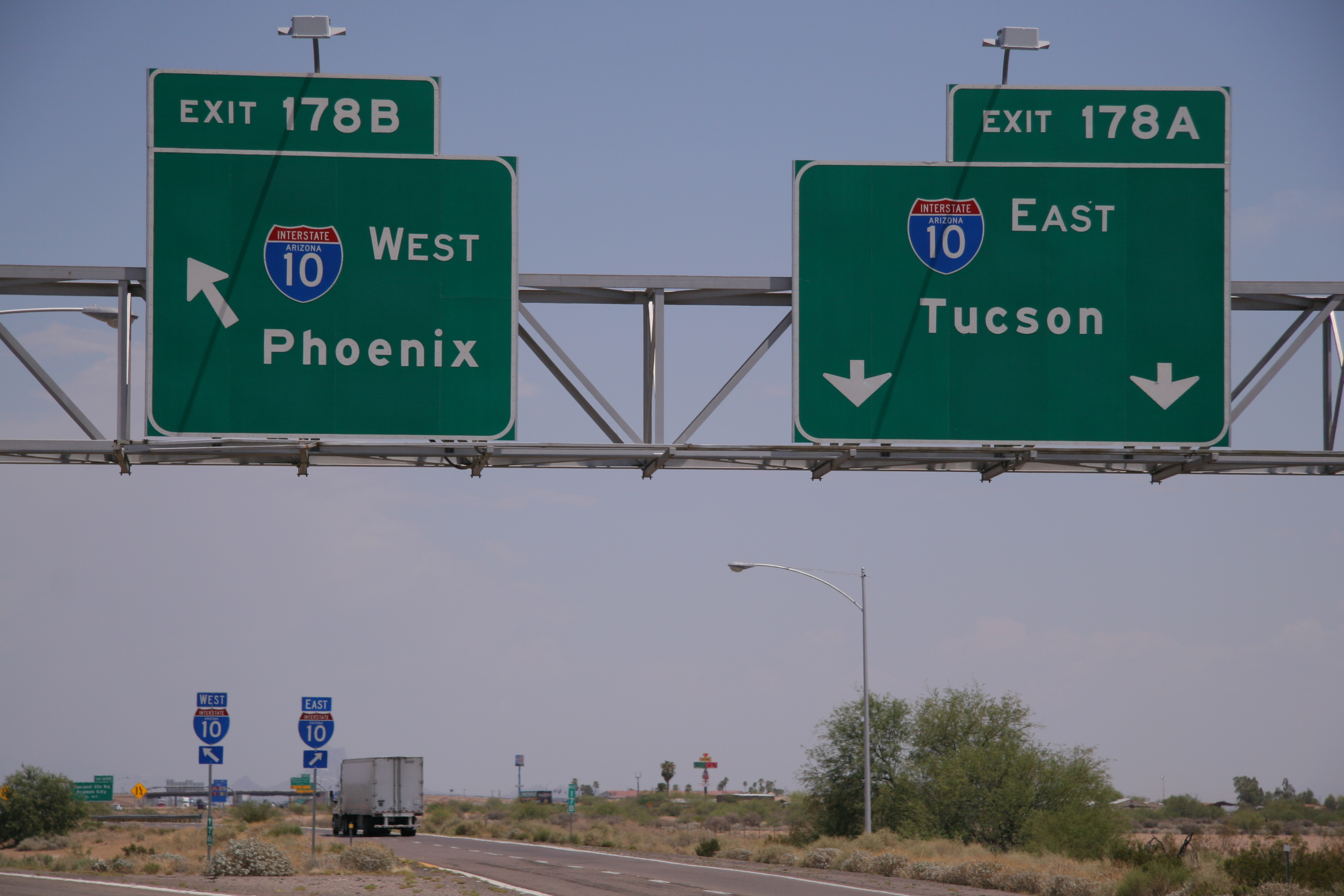 Exit numbering on SR 85 near I-10