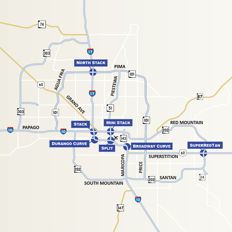 Freeway interchange nicknames