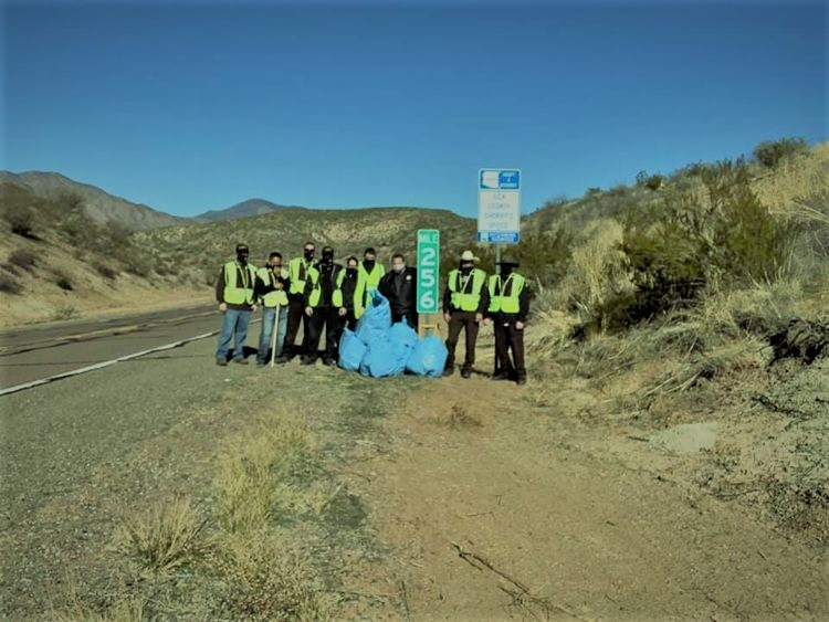 Adopt a Highway volunteers