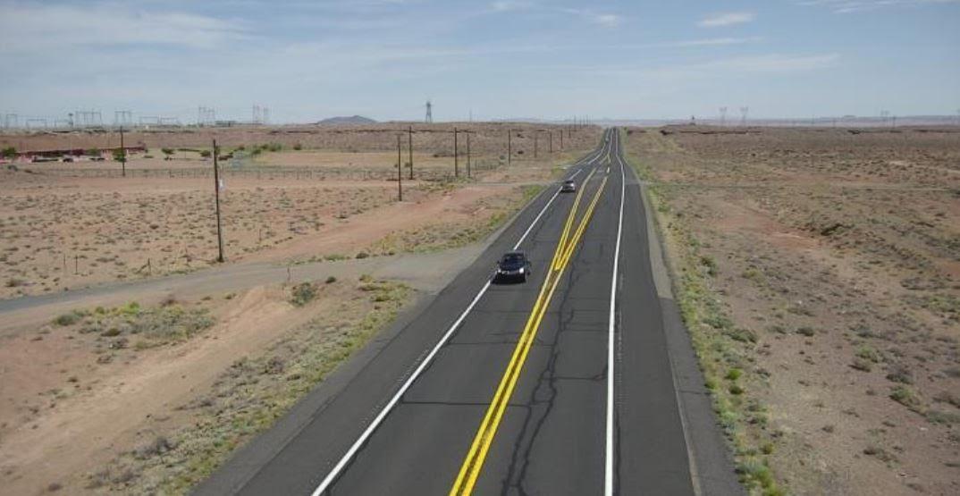 Highway photo extreme heat
