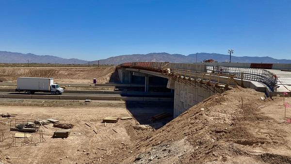 File photo of new Houghton Road bridge over I-10