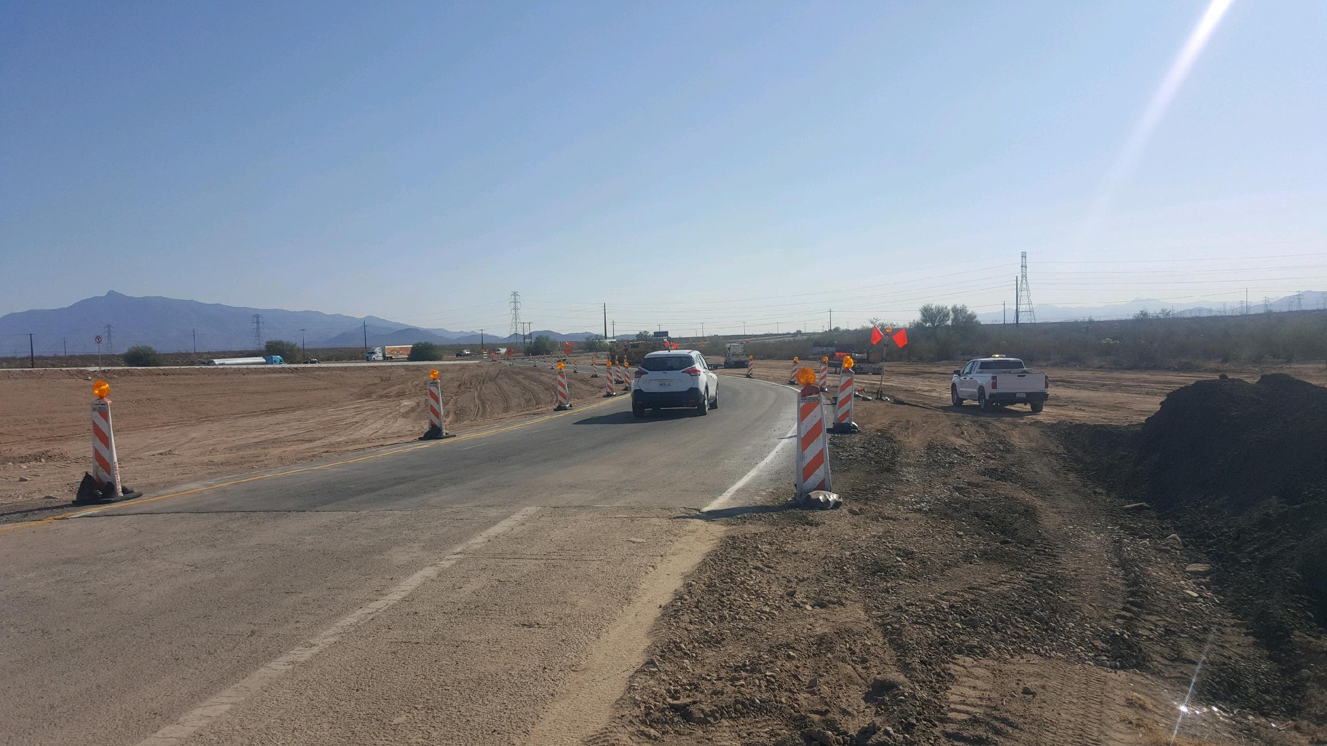 Ramp at Interstate 10/Houghton Road interchange