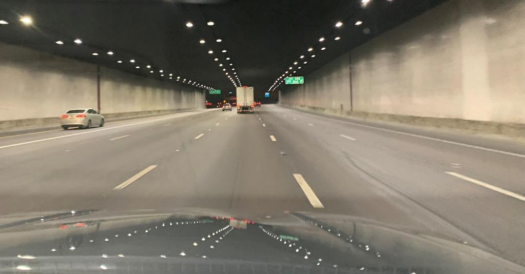 I-10 Tunnel LED lighting improved drive