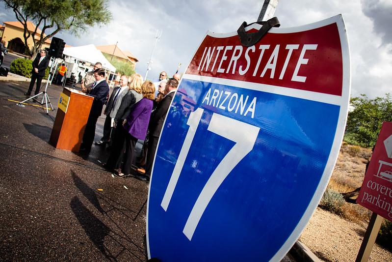 I-17 sign