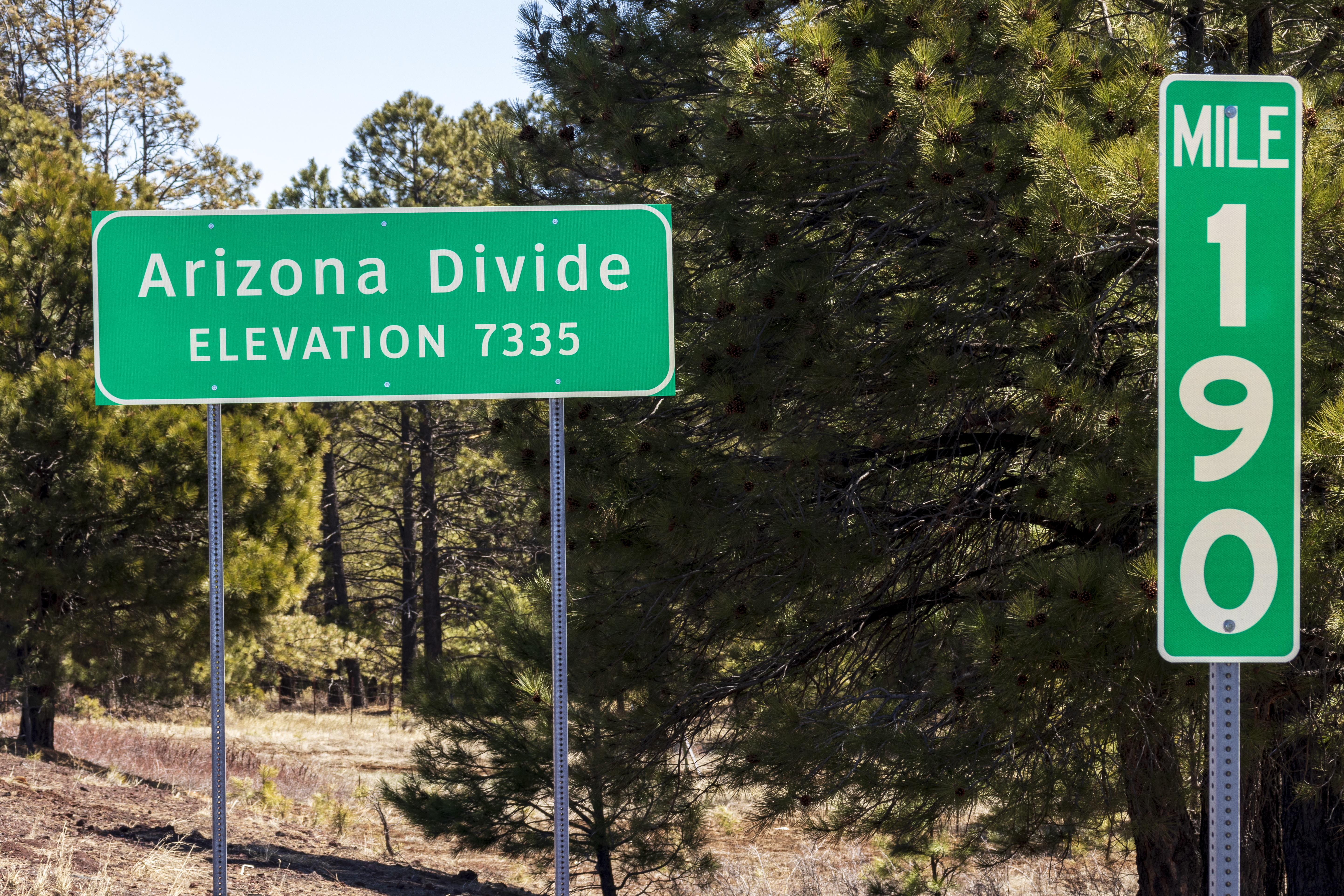 Interstate 40 Arizona Divide