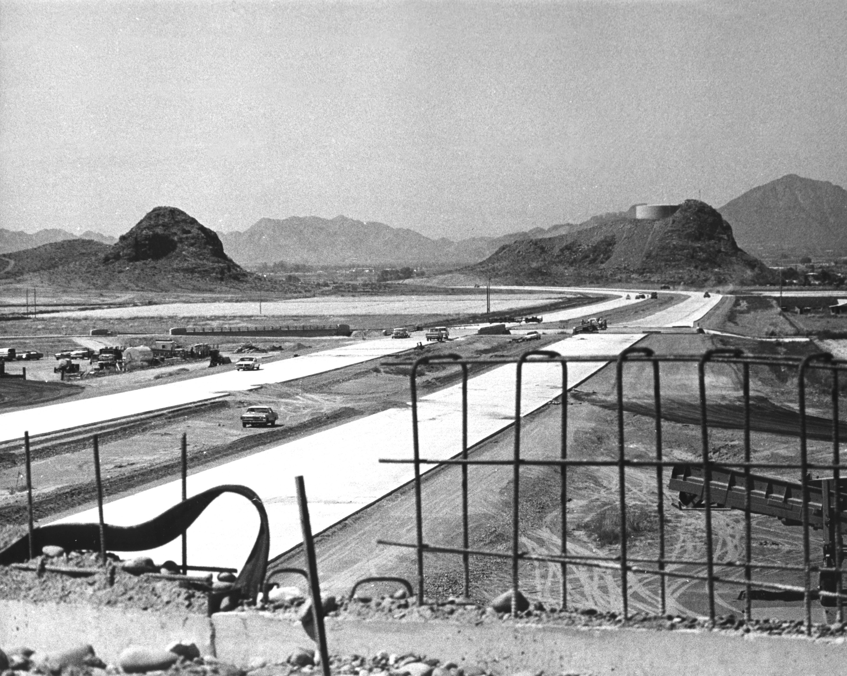 Throwback Thursday I-10 at Broadway Curve