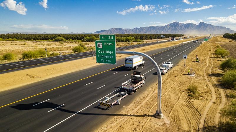 I-10 widening in Eloy