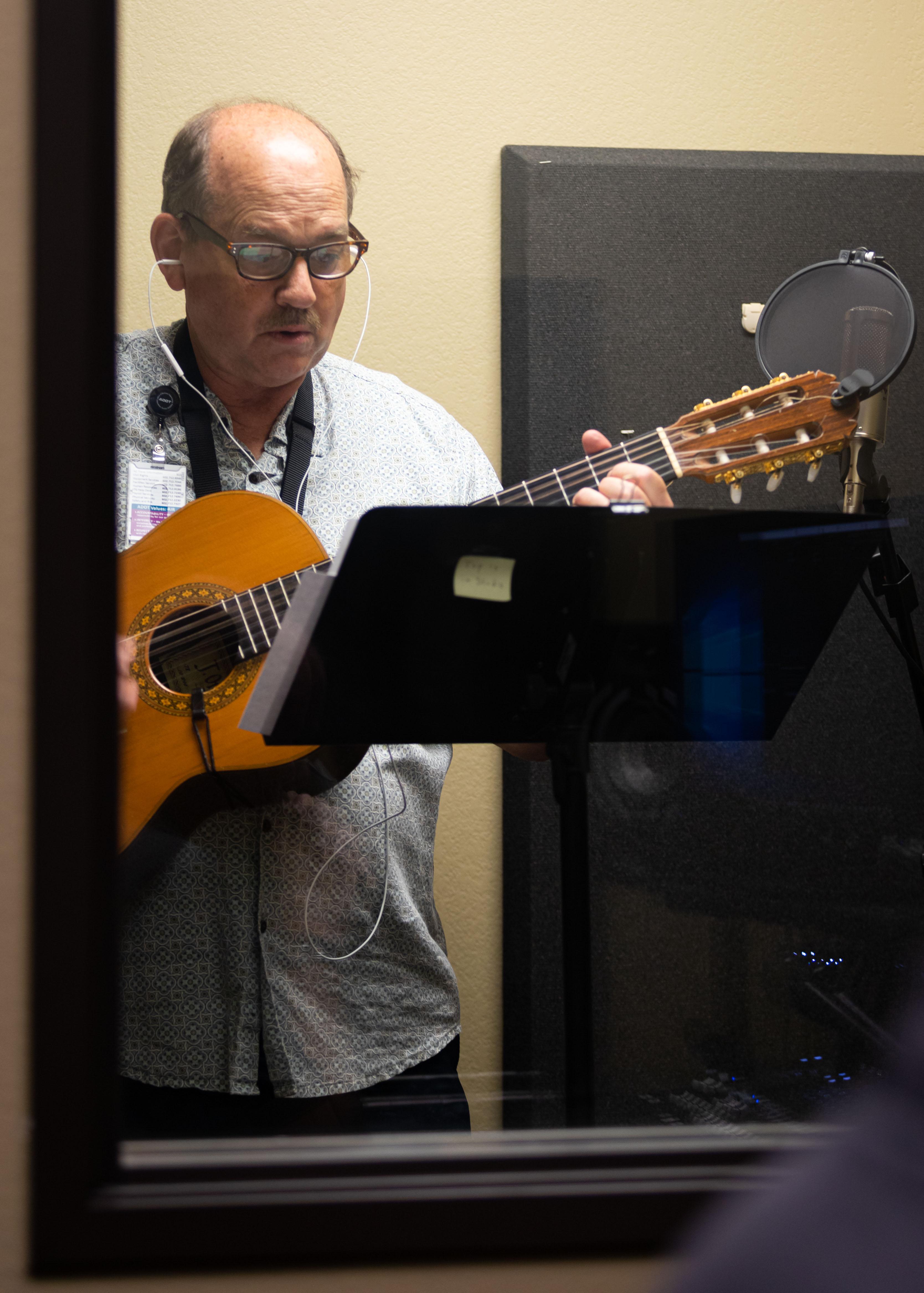 John Tucker recording