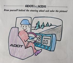 ADOT Kids coloring