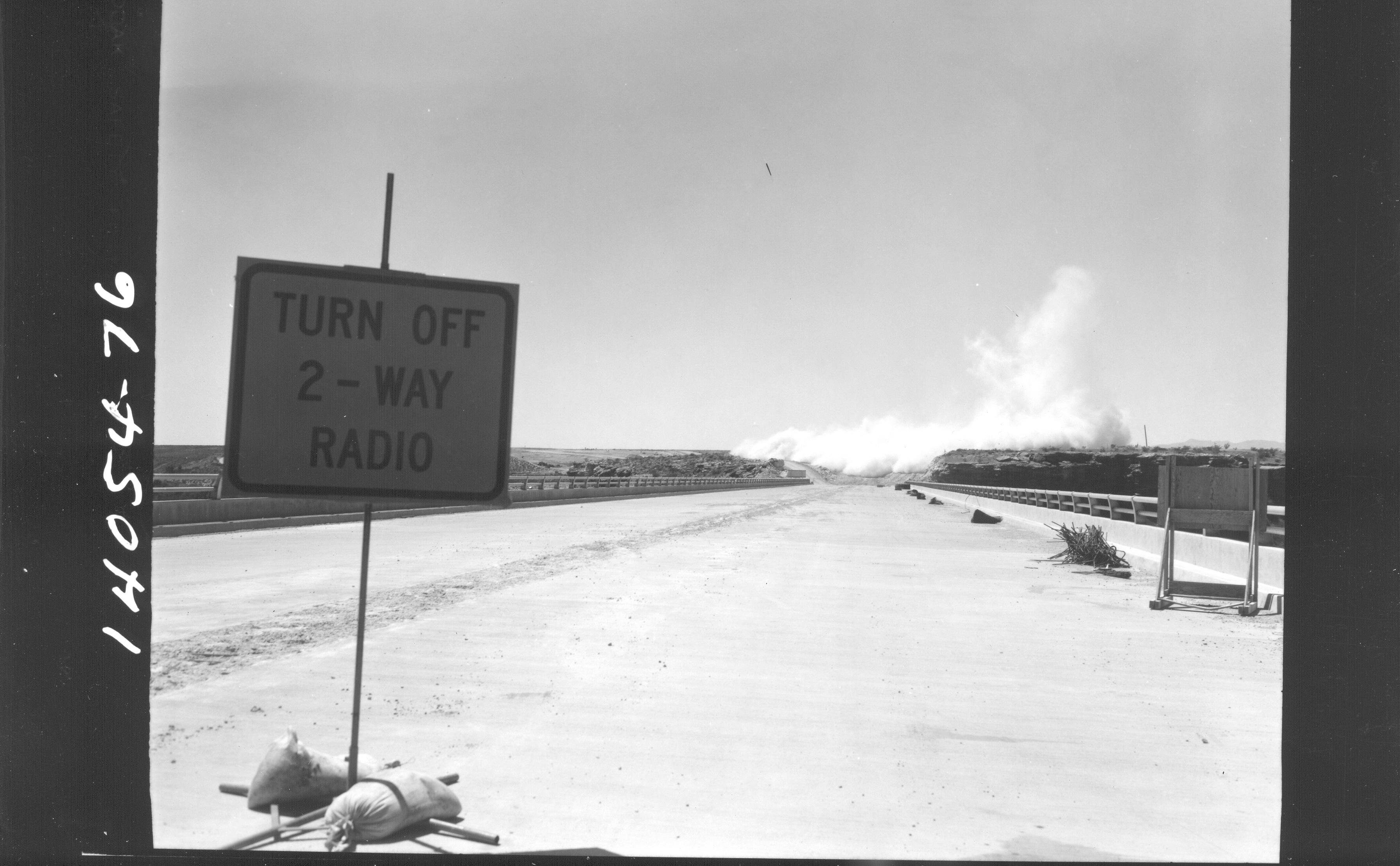I-15 Blasting Zone