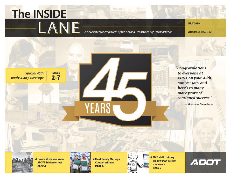 Inside Lane 45th Anniversary Issue