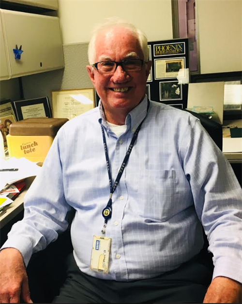 LeRoy Brady has been working on landscaping for ADOT for 45 years