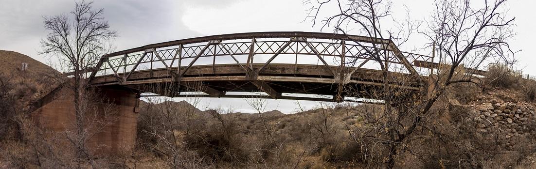 Leslie Canyon Bridge near Douglas, AZ