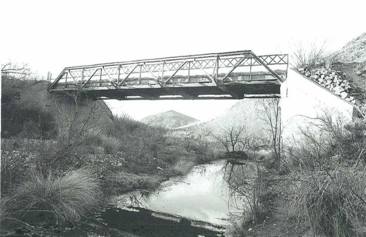 Leslie Creek Bridge near Douglas AZ