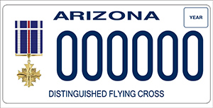 Distinguished Flying Cross License Plate