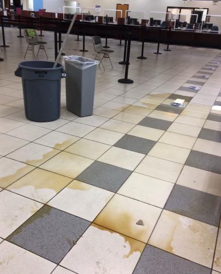 Prescott MVD water damage employees customer service cleanup