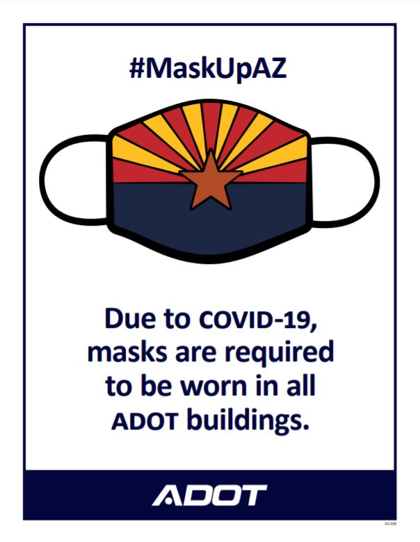 Mask Up in ADOT Buildings