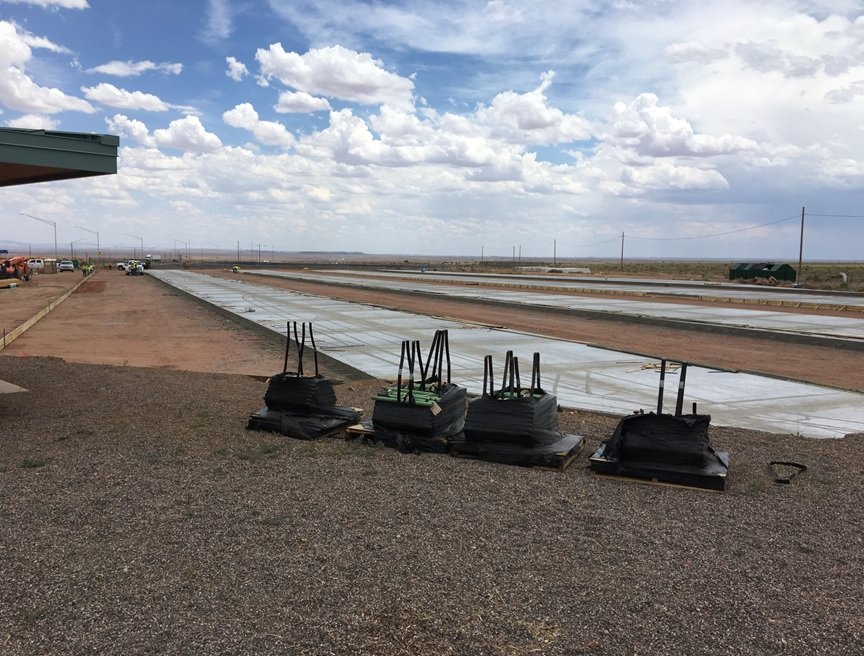 Meteor Crater parking expansion