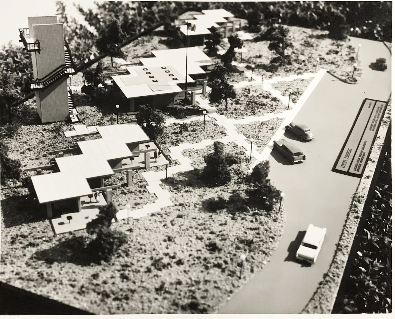Model Sacaton Rest Area