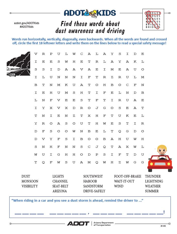 Monsoon word search