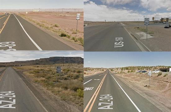 Native American veterans highways