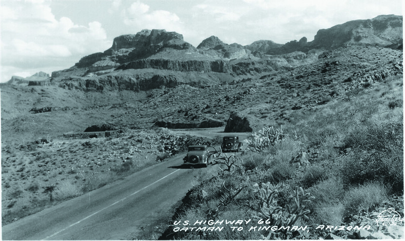 Old Route 66 Oatman to Kingman