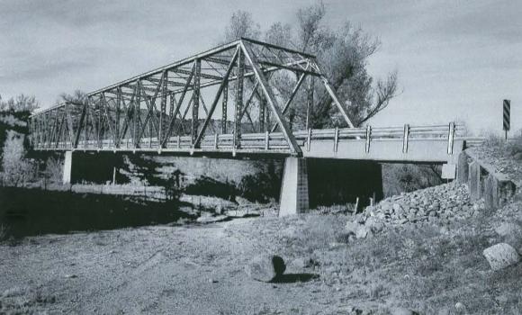 Perkinsville Bridge 2002 photo