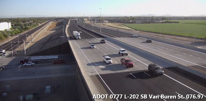 South Mountain Freeway traffic camera