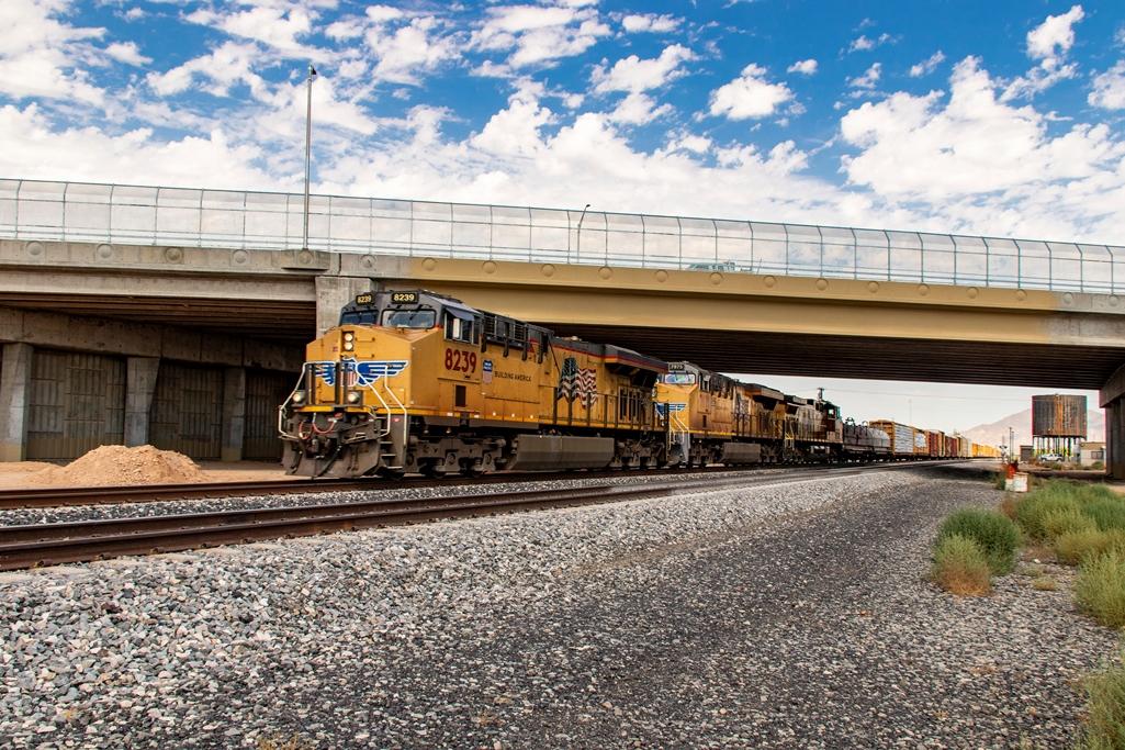 SR 347 railroad overpass
