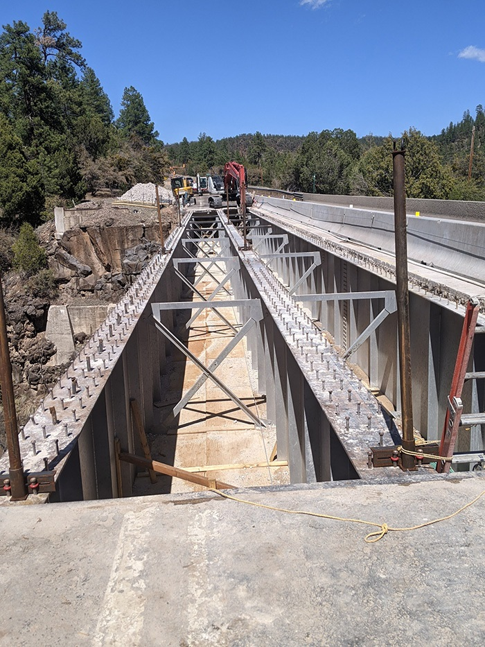 SR 73 Post Office Bridge work