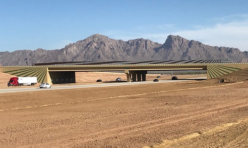 State Route 87 overpass