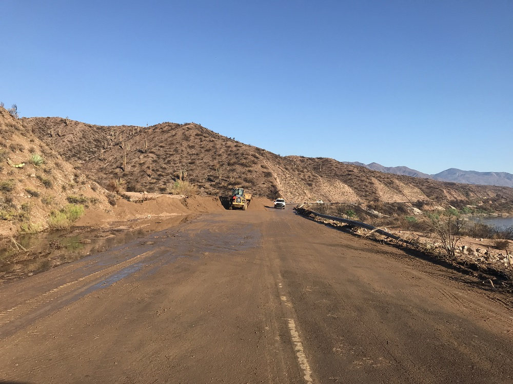 Mudflow on State Route 188