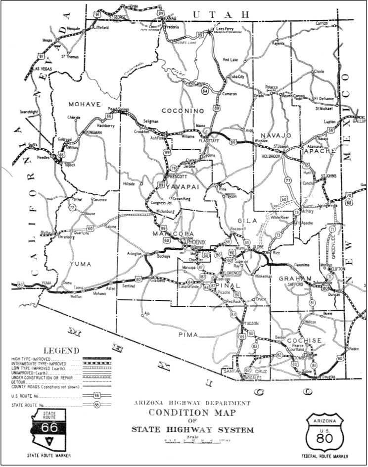 State Highway System 1936