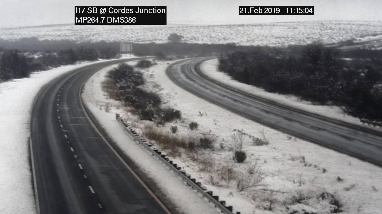 Snowy Road February 2019