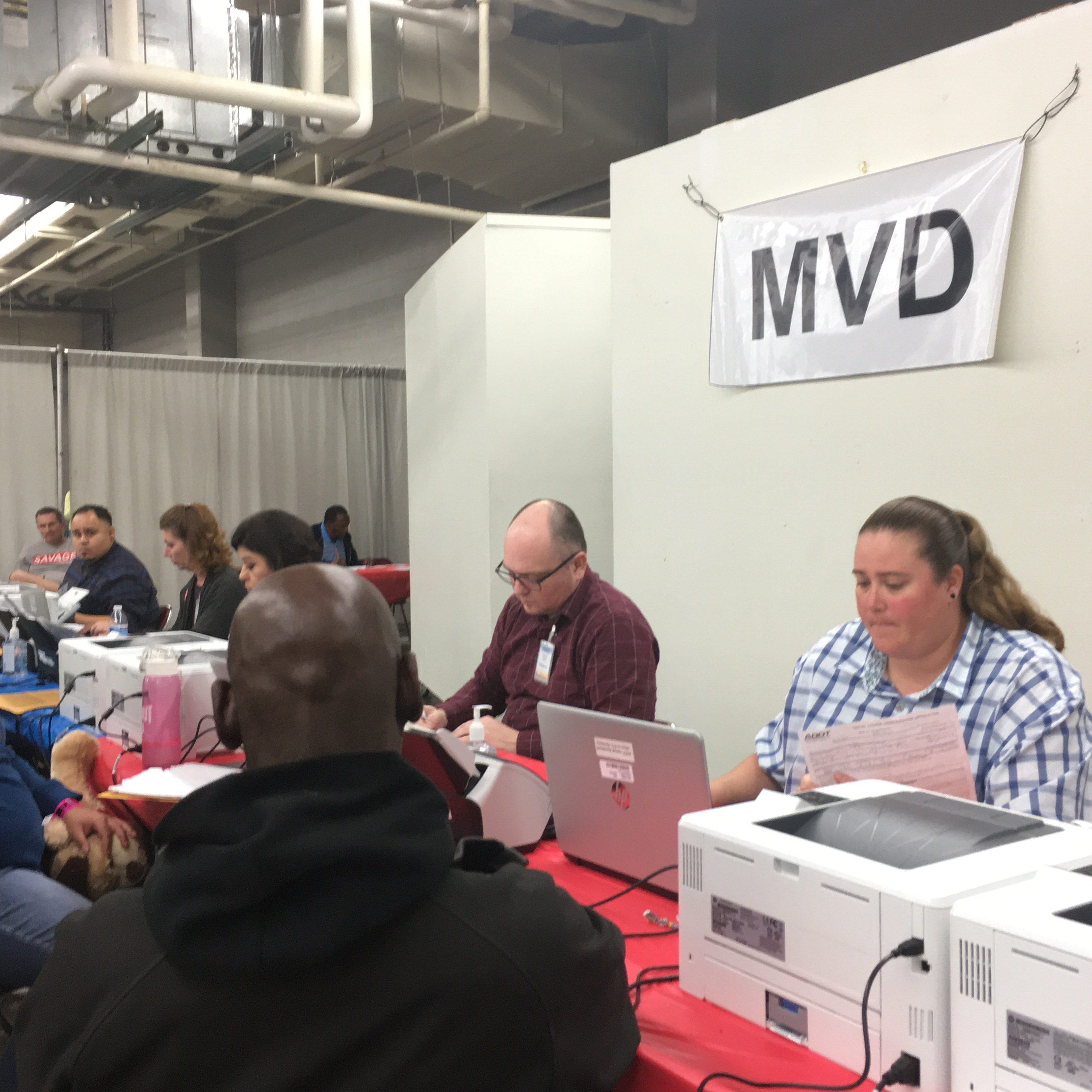 StandDown MVD volunteers