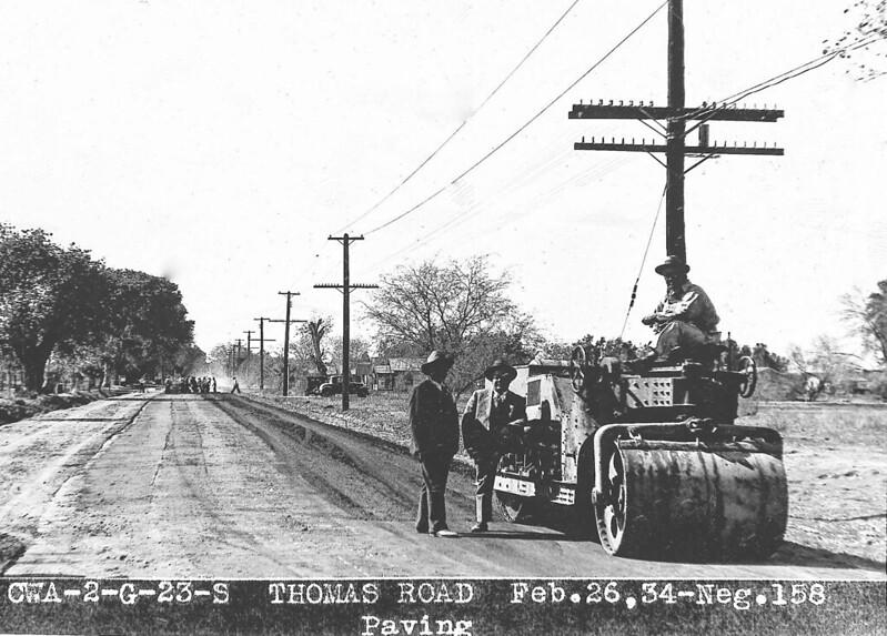 TBT Thomas Road paving