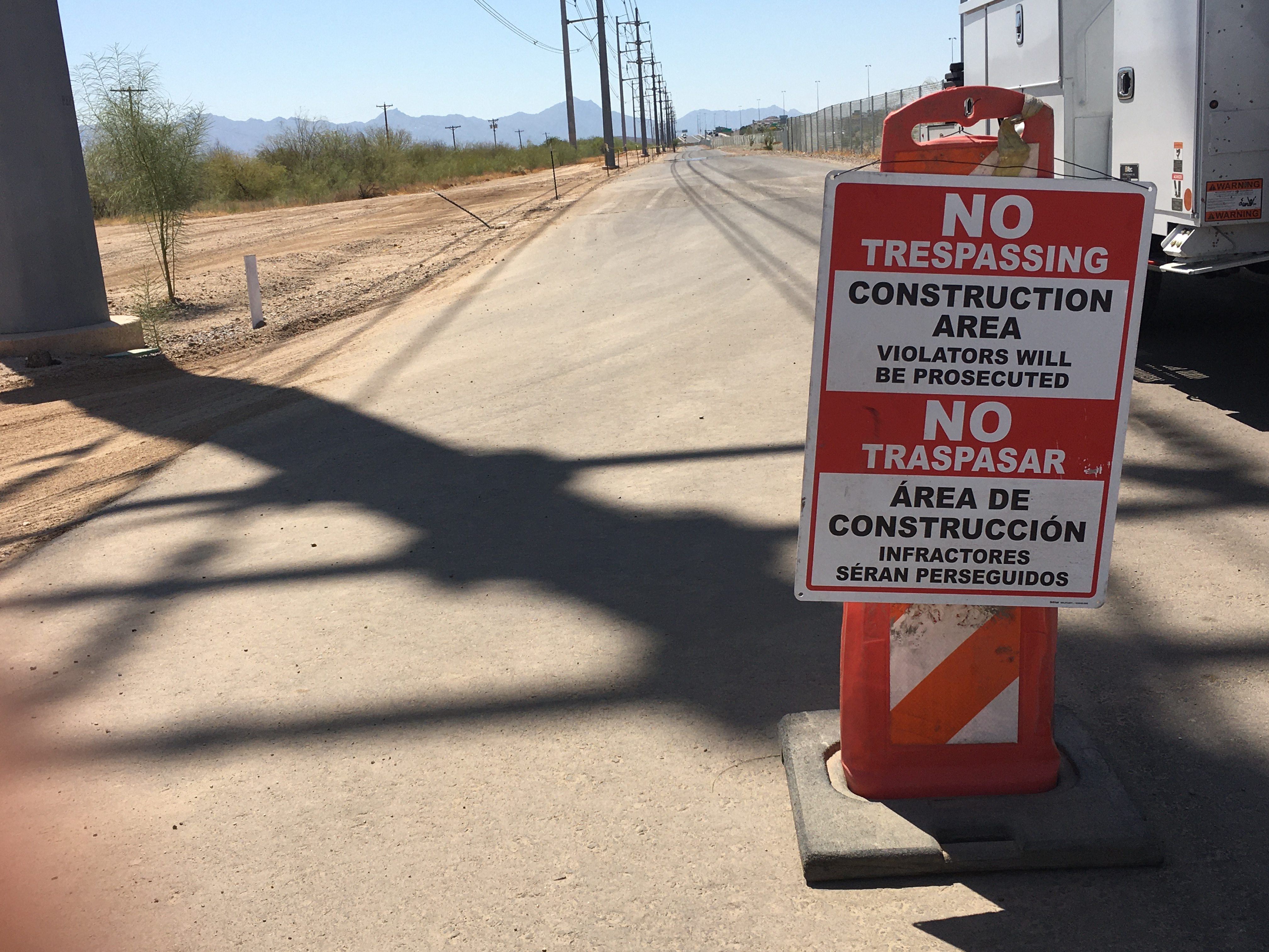 Shared use path for South Mountain Freeway